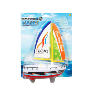 Maxx Wheels Yelkenli Tekne 21 cm.