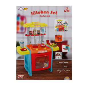 Sesli ve Işıklı Ayaklı Mutfak Seti