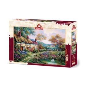 1500 Parça Puzzle : Bahar Bahçe