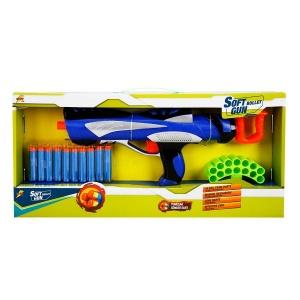 Soft Bullet Sünger Dart Atan Tüfek