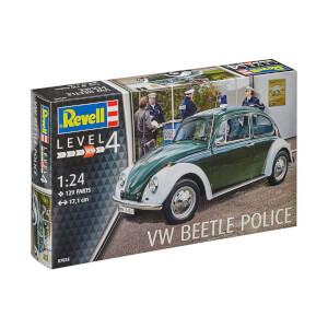 Revell 1:24 Volkswagen Beetle Police Araba 7035
