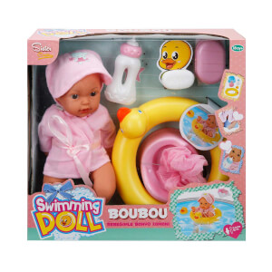 Boubou Bebeğimle Banyo Zamanı