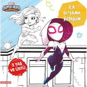 Marvel Super Hero Adventures Ghost Spider İlk Boyama Kitabım