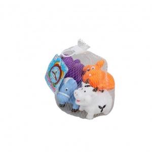 4'lü Banyo Oyuncakları Eğlenceli Hayvanlar