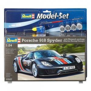 Revell 1:24 Porsche 918 Weissach Model Set Araba
