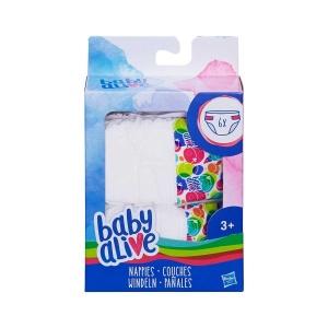 Baby Alive Yedek Bez 6'lı C2723