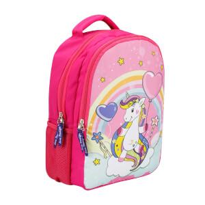 Unicorn Desenli Okul Çantası 9018