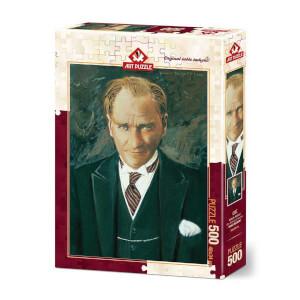 500 Parça Puzzle : Atatürk Portresi