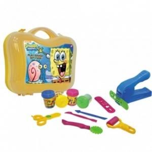 Sponge Bob Çantalı Oyun Hamuru Seti
