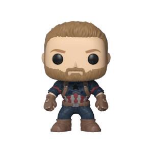 Funko Pop Marvel Avengers Infinity War: Captain America Figür