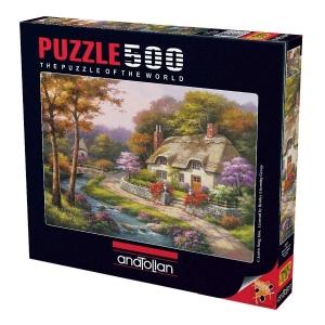 500 Parça Puzzle : Konakta İlkbahar