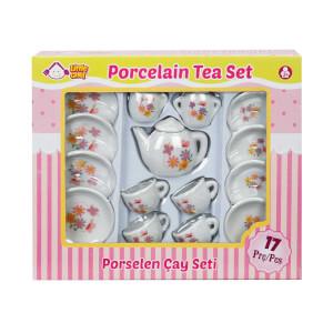 Porselen Çay Takımı 17 Parça