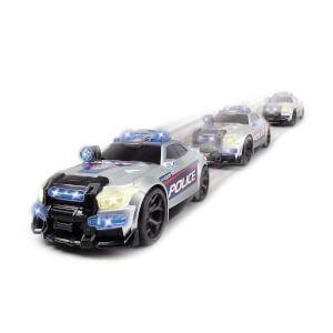 Sesli ve Işıklı Street Force Polis Arabası