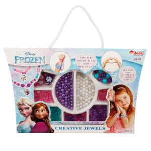 Frozen Küçük Kutulu Boncuk Takı ve Tasarım Seti
