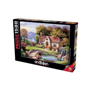 1500 Parça Puzzle : Taş Köprü Konağı