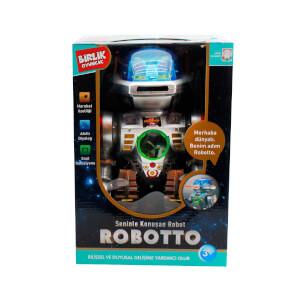 Uzaktan Kumandalı Türkçe Konuşan Robotto Robot