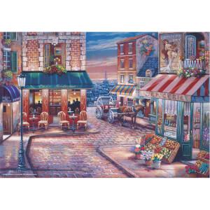 500 Parça Puzzle : Cafe Randevu