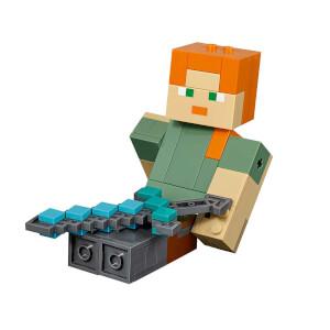 LEGO Minecraft Tavuklu BigFig Alex 21149