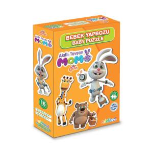 16 Parça Puzzle: Akıllı Tavşan Momo