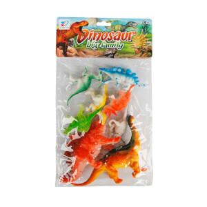 8'li Dinozor Figür