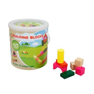 Woody Ahşap Bloklar 30 Parça