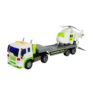1:16 Maxx Wheels Sesli ve Işıklı Transporter Tır 40 cm.