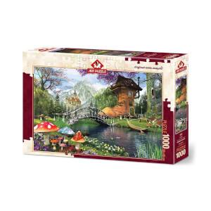 1000 Parça Puzzle : Postal