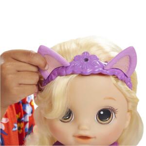 Baby Alive Bebeğimle Saç Tasarımı Sarışın E5241