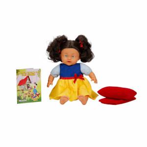 Bebelou Uykudan Önce Bebeği Masal Anlatan Pamuk Prenses Ve Yedi Cüceler 40 cm.