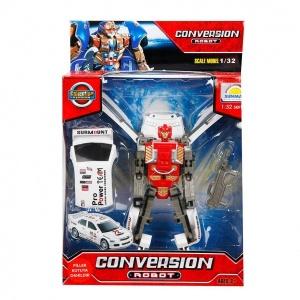 1:32 Sesli ve Işıklı Dönüşebilen Robot