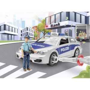 Revell 1:20 Figürlü Polis Arabası Çocuk Kiti 00820