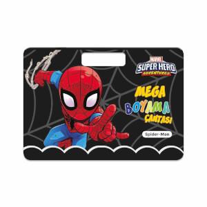Spiderman Mega Boyama Çantası