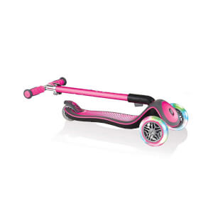 Elite Lights 3 Tekerlekli Pembe Scooter