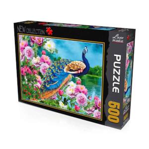 500 Parça Puzzle : Tavus Kuşu