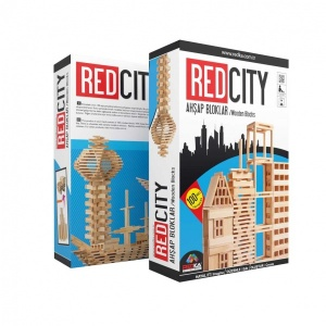 Redka Red City Ahşap Bloklar
