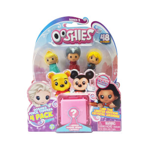 Ooshies Disney Mini Figür 4'lü Paket