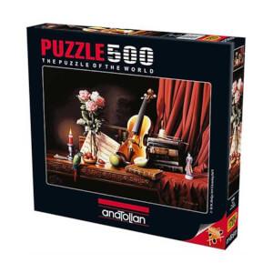 500 Parça Puzzle : Aşk