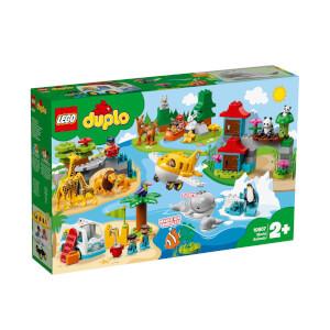 LEGO DUPLO Town Dünya Hayvanları 10907