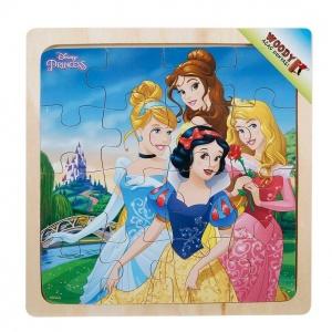 Disney Princess Ahşap Puzzle 16 Parça