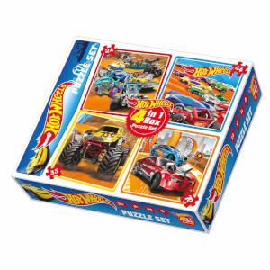 24 + 35 + 54 + 70 Parça Puzzle : Hot Wheels