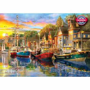 1500 Parça Puzzle : Liman Işıkları
