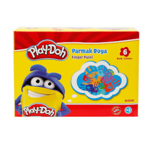 Play Doh Parmak Boya 6 Renk