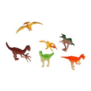 6'lı Dinozor Figür