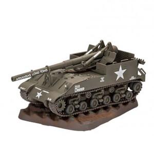 Revell 1:76 M40 G.M.C. Model Tank 03280