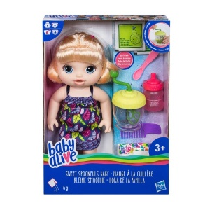 Baby Alive Bebeğimle Mama Zamanı E0586