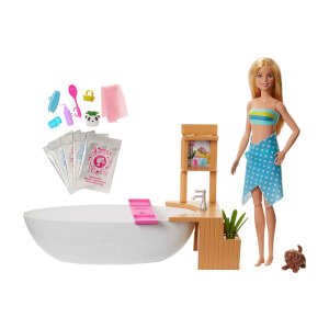 Barbie Wellness Barbie'nin Spa Günü Oyun Seti GJN32