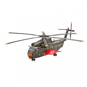 Revell 1:72 CH-53G H.Trans Helikopter Model Set Helikopter