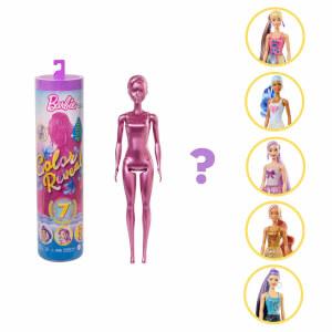 Barbie Color Reveal Renk Değiştiren Işıltılı Sürpriz Bebekler Serisi 1 GWC55