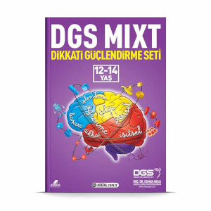 DGS MIXT Dikkati Güçlendirme Seti 12-14 Yaş