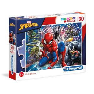 30 Parça Puzzle : Spiderman